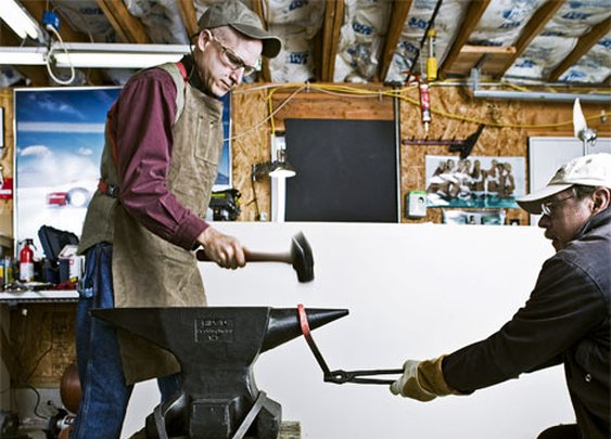 Blacksmithing 101: How to Make a Forge and Start Hammering Metal - Popular Mechanics