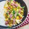 Closet Cooking: Ham and Egg Breakfast Quesadillas