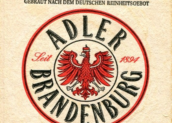 Coasters from Germany - Adler Brandenburg
