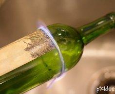 How to Break a Wine Bottle