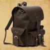Saddleback Leather Large Front Pocket Backpack in Dark Coffee Brown