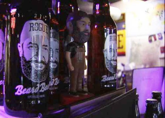 Beer from a Beard: Rogue Ales unveils latest creation