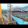 Time Lapse: Construction of the World's Larget Container Ship – The 400m Long Triple-E – Maersk | ClickExist