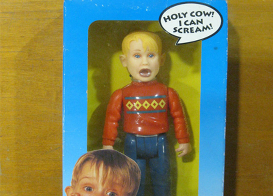 Screaming Home Alone Action Figure
