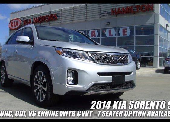 2014 Kia Sorento LX AWD & SX | Video Tour | CAR NATION CANADA - YouTube