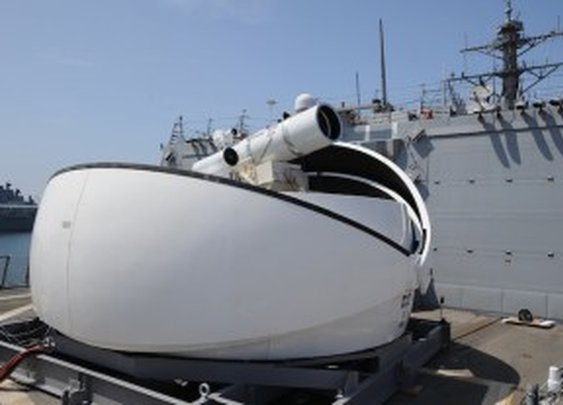 Navy's New Laser Cannon