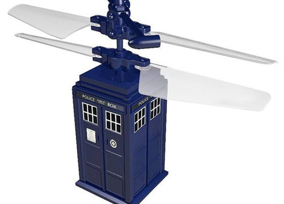 Remote Control Flying TARDIS