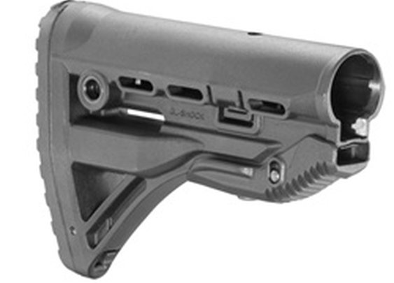 Recoil-reducing M4/AR-15 Stock - GL-Shock