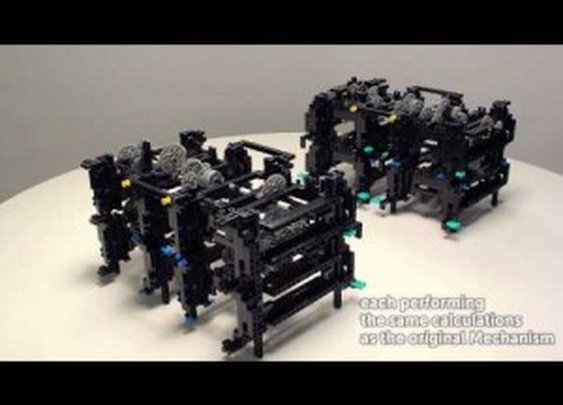 The Antikythera: The World's First Computer's Mechanism Replicated with Lego | ClickExist