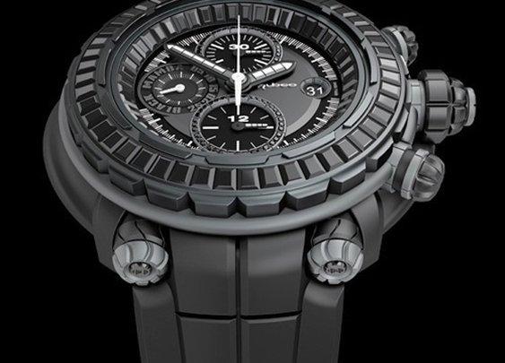 Kobe Bryant Wearing Nubeo Black Mamba MVP Watch  |  UpscaleHype