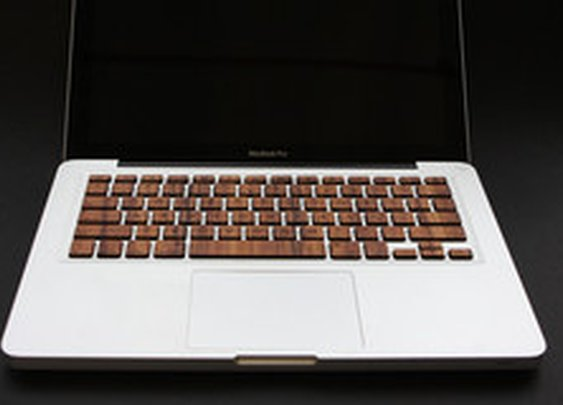 Macbook Wood Keyboard - RAWBKNY