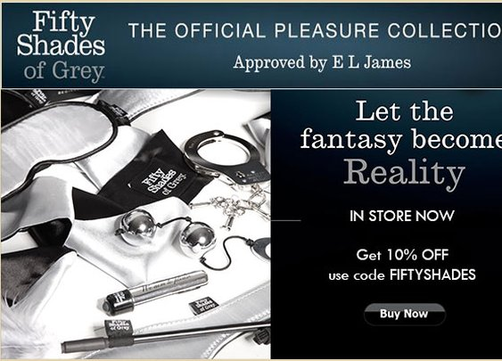 The Official Fifty Shades of Grey Pleasure Collection