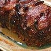 Bacon-Wrapped Meat Loaf With Barbecue Sauce Glaze