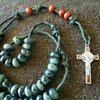 Ranger Rosary in Woodland Camo Colors | CordBands