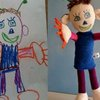 Cool company that makes soft toys based on messed up real kids' drawings! hehe