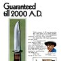 Old Fishing Photos  - Kabar Knife Print Ad, 1970