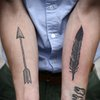 arrow & feather
