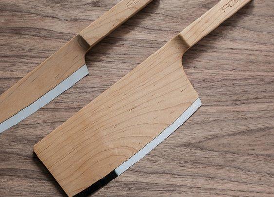 Maple Kitchen Knives