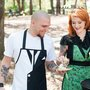 Grillain Villains, Handmade Aprons Inspired by Pop Culture Criminals