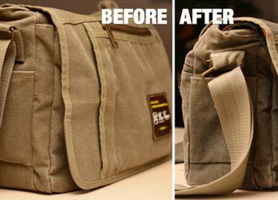 Spoil Your Camera With A DIY Waxed Camera Bag | DIYPhotography.net