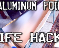 Clever Aluminum Foil Hacks! - YouTube