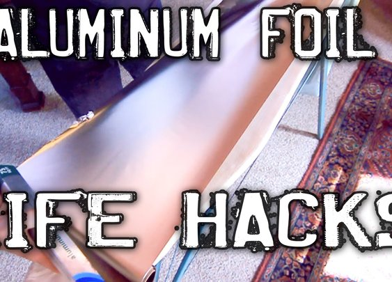 Clever Aluminum Foil Hacks! - YouTube