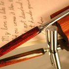 Telescoping Stylus Pen in handcrafted cocobolo by Hope & Grace Pens