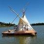 William's Floating Teepee