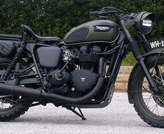 Triumph Bonneville custom: Drags & Racing | Bike EXIF