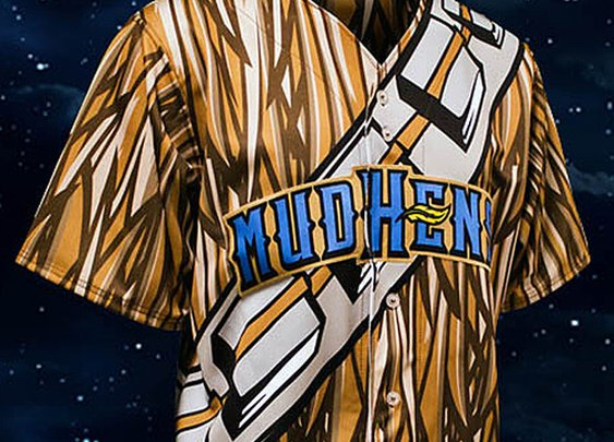 Toledo Mud Hens to wear Chewbacca jerseys - CBSSports.com