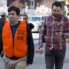 Improv Everywhere Provides Seeing Eye People to Texting New York City Pedestrians