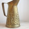 Peerage Brass Brass Pitcher Tavern scene serving by MollyFinds