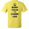 CSC Keep Calm Shirt - Custom Decals, Shirts and Banners