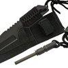 Full Tang Tanto Hunting Knife W/ Fire Starter