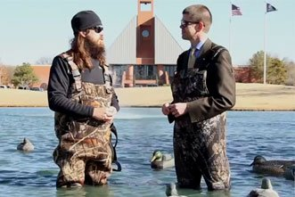 Duck Dynasty's Jase Robertson Interview at Oklahoma Christian