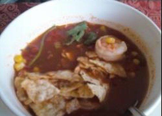 Mexican Shrimp Soup