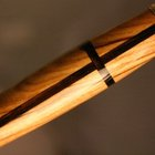 Wood Pen with Cross in Holy Land olive wood by Hope & Grace Pens