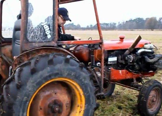 Terror Tractor - YouTube