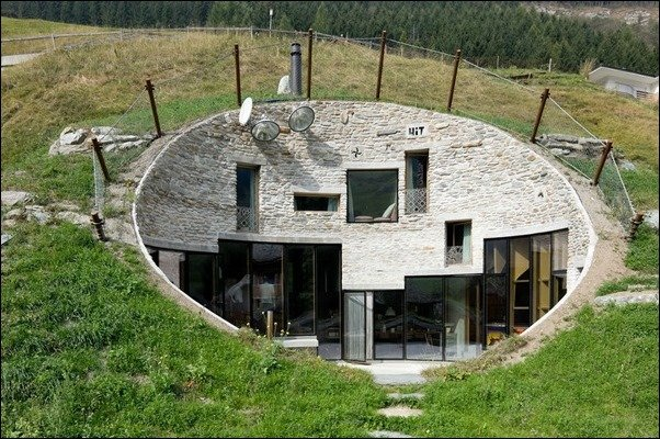 Coolest House In The World 2013 the coolest earth houses around the world | gentlemint