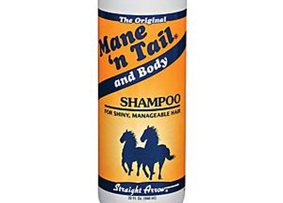 Mane N Tail Shampoo, it's for humans too