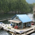 Floating Cabin: Powell Lake, British Columbia