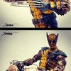 Zombie Marvel Sculptures