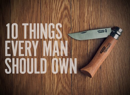 10 Things Every Man Should Own [Spring Edition]   Man Made DIY   Crafts for Men   Keywords: style, fashion, men, manliness