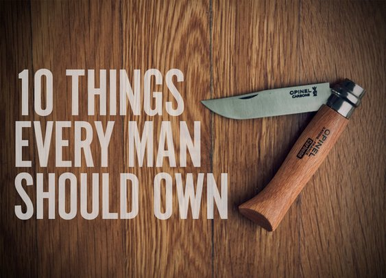 10 Things Every Man Should Own [Spring Edition] | Man Made DIY | Crafts for Men | Keywords: style, fashion, men, manliness