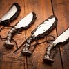 Handcrafted Railroad Spike Knives | Cinescape Studios | Bourbon & Boots