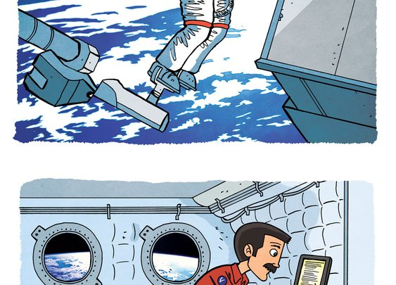 Chris Hadfield - an astronaut's advice