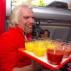 Branson serves as AirAsia stewardess after losing bet   LUXUO Luxury Blog