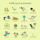 Top 20 Useless Superpowers
