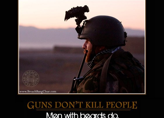Combat Beards: One Beard to Rule Them All