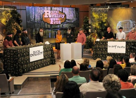 Duck Commander Vs. Swamp People
